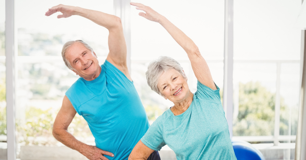 Five Mobility Exercises for Seniors in Home Care