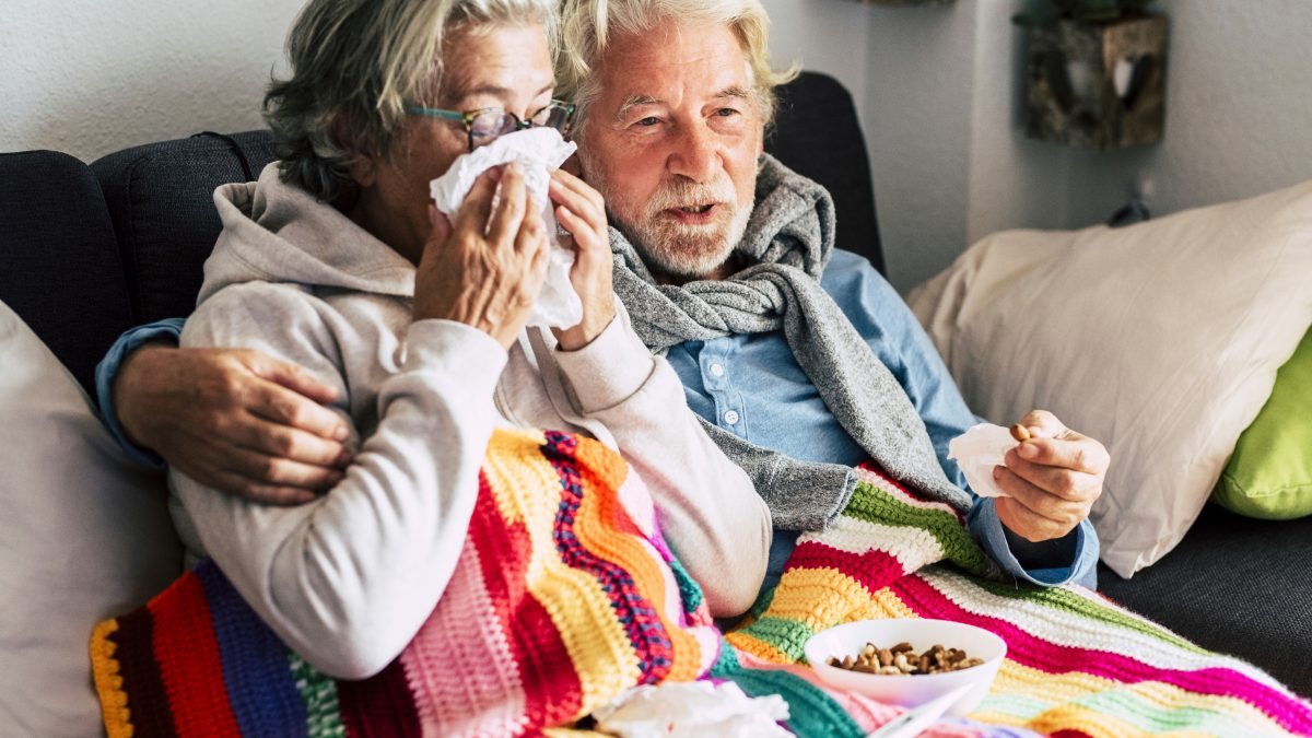 health problems for retired man and woman - Care Partners